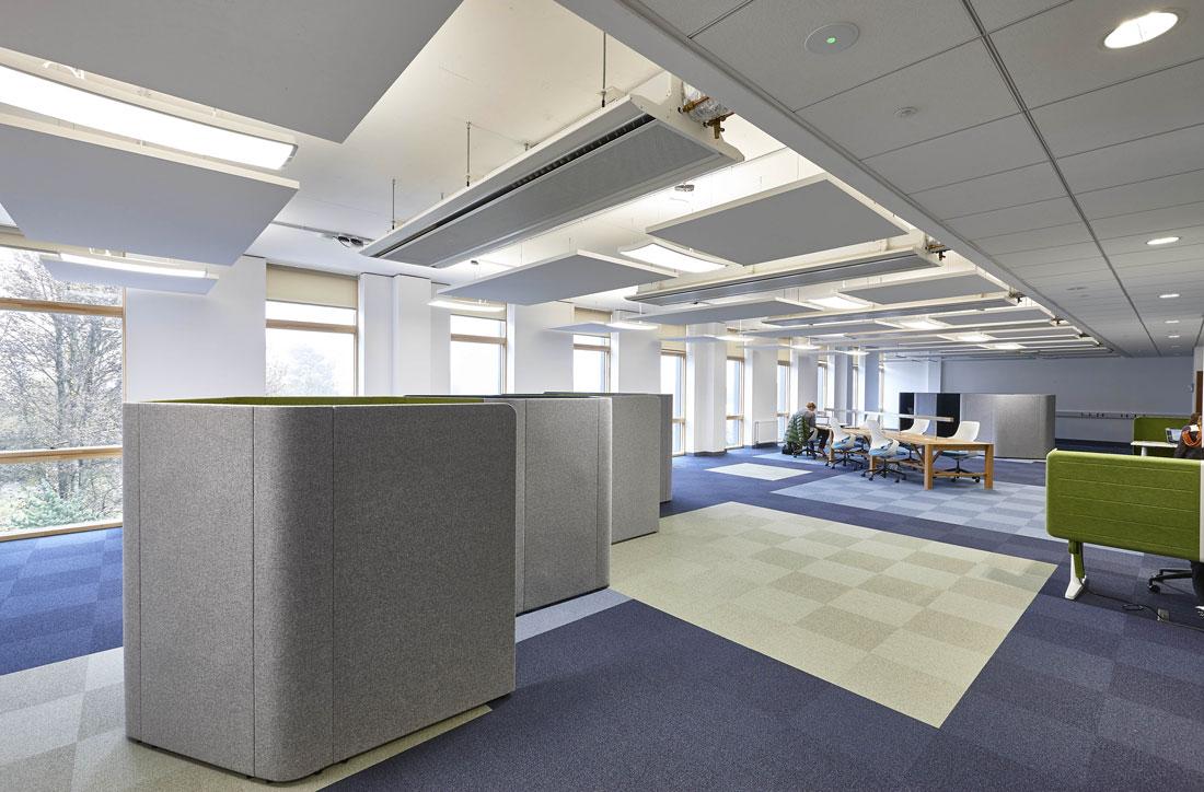 Bath University New 10 West Psychology Building Study Area | Commercial Buildings Photographer London
