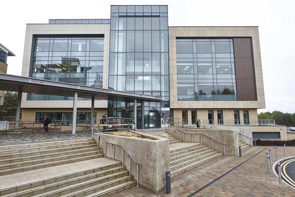 Bath University New 10 West Psychology Building Frontage | Commercial Buildings Photographer London